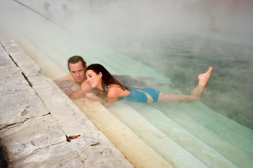 What's in the World's Largest Hot Springs Pool?