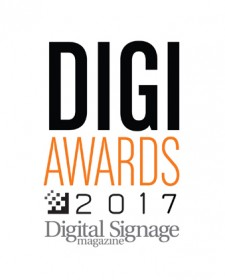 2017 DIGI Award for Best Digital Signage Software Software - Mvix
