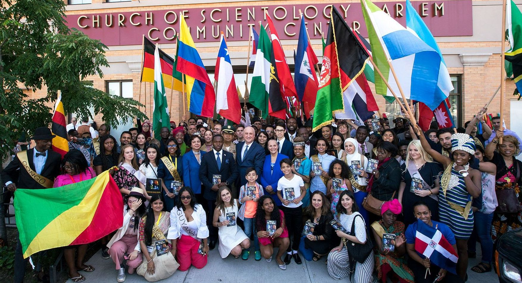 Youth for Human Rights finale at the Church of Scientology Harlem