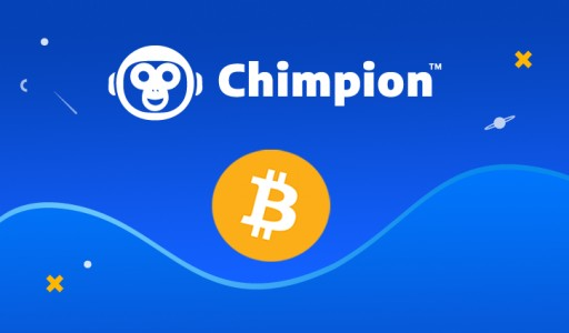 Chimpion Announces Support for Bitcoin (BTC)