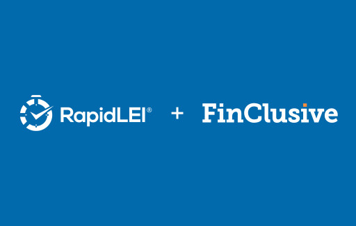 RapidLEI and FinClusive partnership