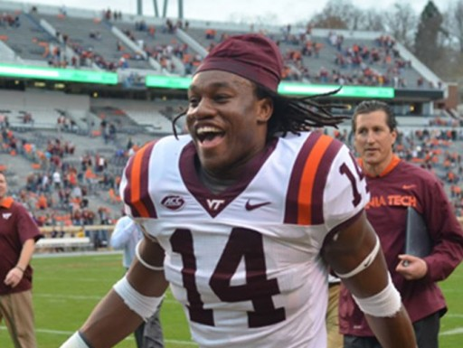 Trey Edmunds, 6'1 220 Running Back Returns to Blacksburg for Virginia Tech Pro Day by Inspired Athletes