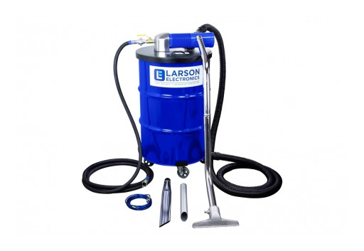Larson Electronics Releases Explosion-Proof Vacuum, 85 CFM Required, 40-Foot Hose, 55-Gallon Capacity
