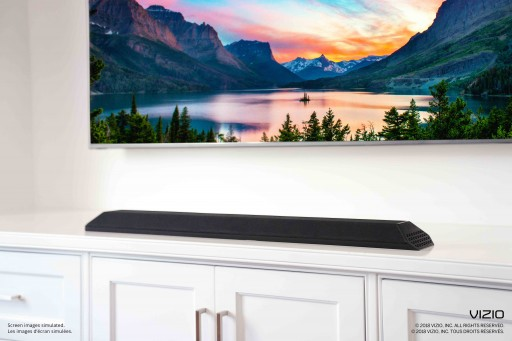 "VIZIO Announces Availability of All-New 36"" 2.1 Sound Bar With Built-in Dual Subwoofers"