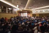 Scientology Community Center auditorium was filled to capacity at the peace summit called by The Game.