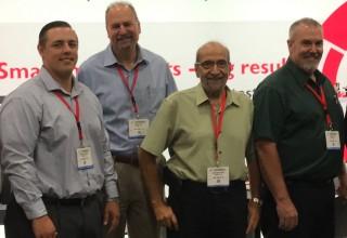 Mr Saada and a few members of the Hi-Speed Sales Team