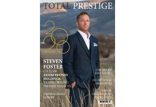 Steven Foster, CEO, Axiom Prepaid Financial featured in Prestige