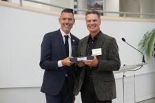 2019 Distinguished Alumni Award was presented to Gordon Carrier