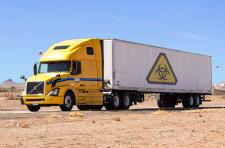 Truck carrying Hazardous material