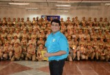 Executive Director of The Way to Happiness Foundation of India, Mr. Rohit Sharma, conducted the workshop for 200 at the police training school in Dwarka, India.