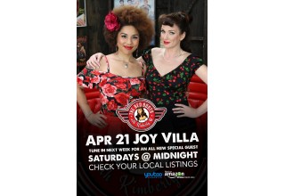 Joy Villa with The Red Booth host Kimberly Q