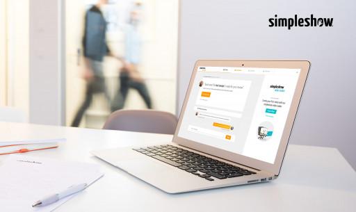 simpleshow adds service portal to its digital platform