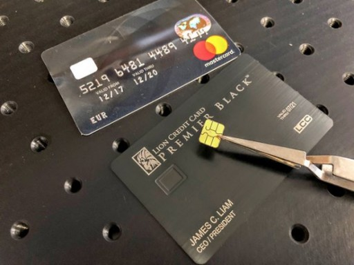 Lion Credit Card Converts Any Plastic Credit Cards Into Metal