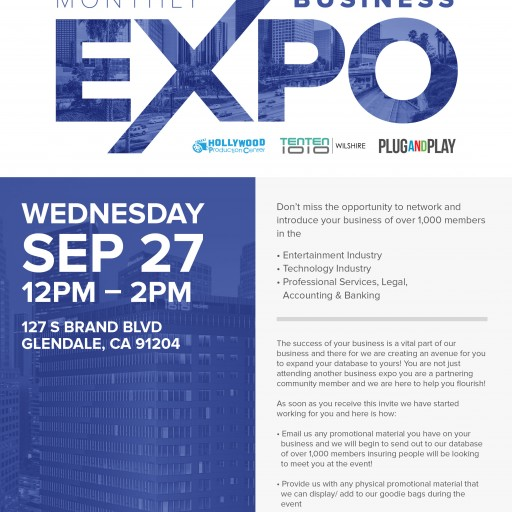 TENTEN Wilshire: Invitation to the Fall Monthly Business Expo