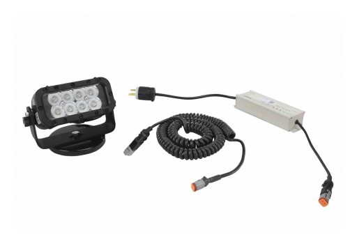 Larson Electronics Releases LED Machine Light Bar, 24 Watts, 200lb Magnetic Mount, 110-277V AC