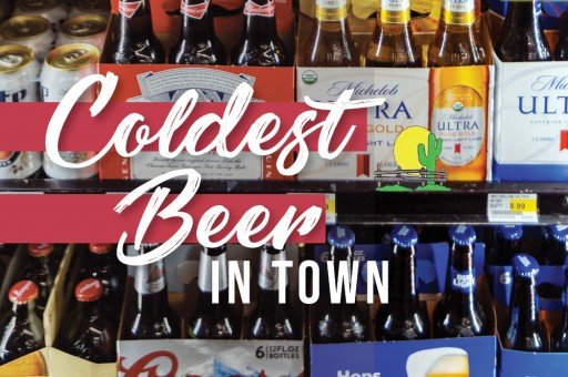 Local Marketplace Offers the 'Coldest Beer in Town' With Larger-Than-Life Beer Refrigerator