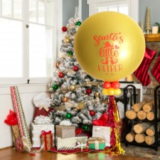 Winter Memories Santa's Helper Gender Reveal Balloon Kit