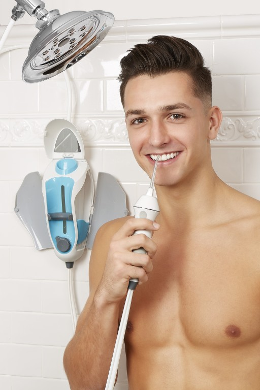 The Innovative, All-in-One Water Flosser, ToothShower, is Now Available in Time for National Flossing Day