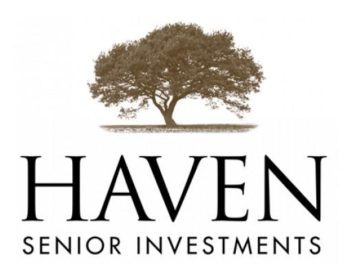 Haven Senior Investments Announces Texas Corporate Headquarters