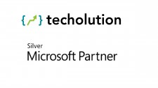 Techolution Silver Partner of Microsoft - Logo