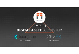 Formosa Financial Announces Merger With CEZEX and Katalyse.io