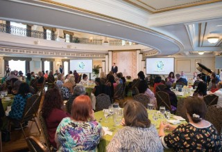 Summer Charity Coalition luncheon hosted by the Church of Scientology at the Fort Harrison Crystal Ballroom