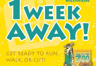 One week away from the 12th annual Day at the Zoo 5K Run and 1-Mile Fun Walk!