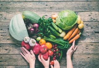 Array of Healthy Veggies