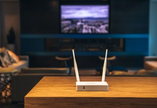 ButterflyVPN Home router