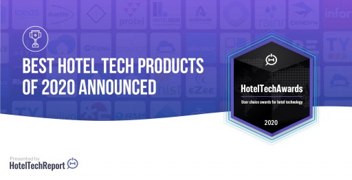 Winners of the 2020 HotelTechAwards Announced