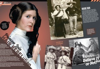 Origin of the Princess Leia Bun