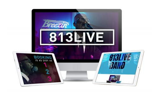 Breezin' Entertainment & Productions Launches 813Live Band