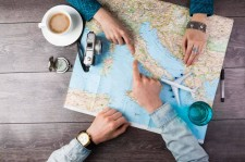 Map out a romantic vacation