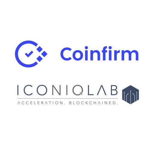 ICO Accelerator Iconiq Lab and Blockchain Regtech Leader Coinfirm Partner to Provide AML Compliance to ICOs