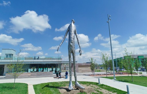 PACE Unveils a Major New Public Artwork 'Looking Up' by Tom Friedman