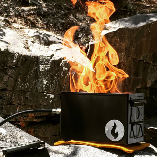 Proven Forest-Safe Portable Campfire