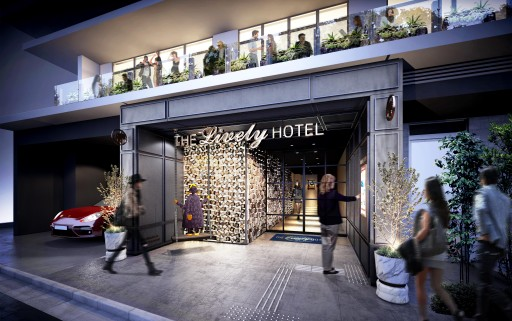 Popular Hotel Brand 'The Lively' Arrives in Tokyo With the Opening of a Third Location in Azabu-Juban