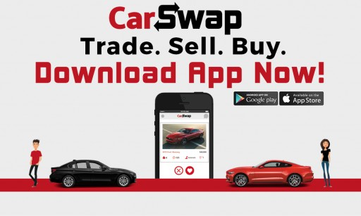 CarSwap Launches First Mobile App for Trading Cars