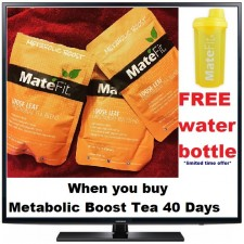 FREE YELLOW BOTTLE When you buy 40 Day METABOLIC BOOST TEA *Limited Time Offer*