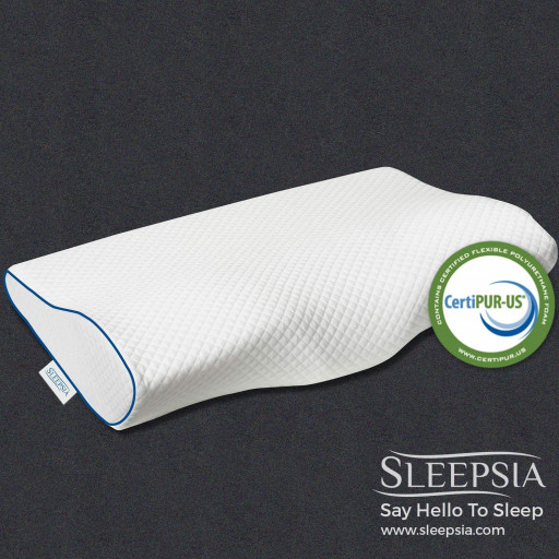Sleepsia Launches an Innovative Cervical Pillow That Relieves Neck Pain and Stiffness