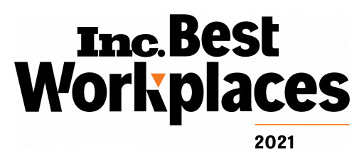 Seismic Digital Ranks Among Highest-Scoring Businesses on Inc. Magazine's Annual List of Best Workplaces for 2021