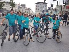 Drug-free bike tour