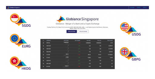 GLOBIANCE Launches Fiat Pegged Stable Coins SGDG and EURG on XDC Network