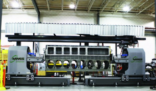 MWES Brings Futureproofing and Advanced Automation to Engine Block Cleaning