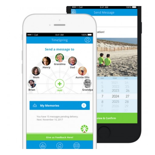 New App TimeSpring is Bringing Families Together in Unprecedented Ways