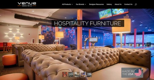 Venue Industries is Bringing Custom Furniture to Florida's Hospitality Industry!