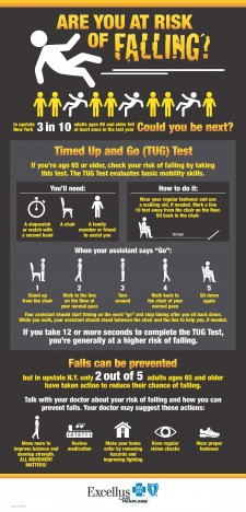 Falls Infographic Poster Excellus BCBS final 3 1 18