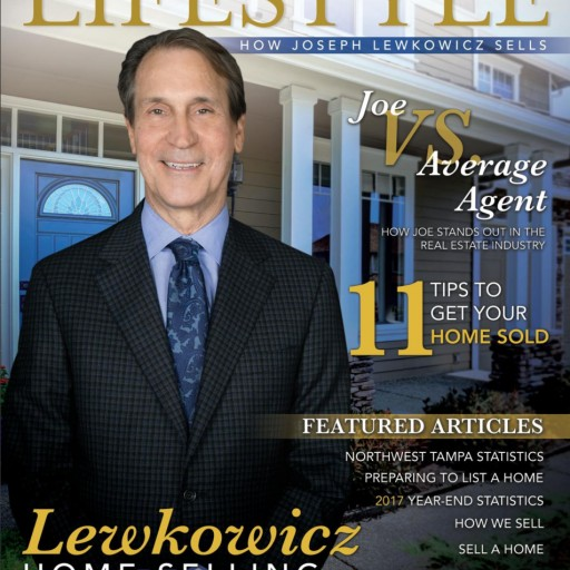 Joseph Lewkowicz Launches North Tampa Florida Lifestyle Magazine: An Inside Look at Joe vs. the Average Agent