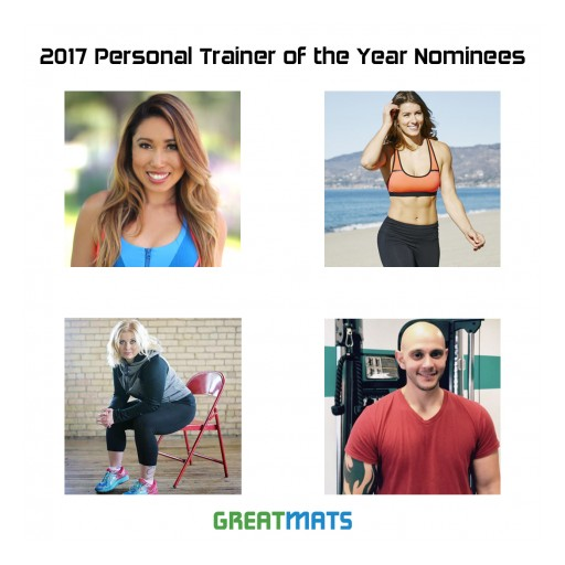 Nation's Top Personal Trainers Competing for Unique Honor From Greatmats