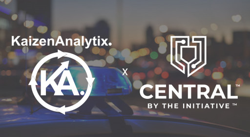 Kaizen Analytix Partners With the INITIATIVE to Launch CENTRAL, an Analytically Backed Community Policing Tool